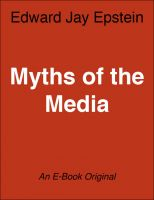 Cover for 'Myths of the Media: An EJE Single'