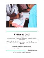 Cover for 'Profound Joy'