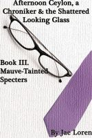 Cover for 'Mauve-Tainted Specters'