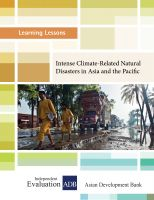 Cover for 'Intense Climate-Related Natural Disasters in Asia and the Pacific'