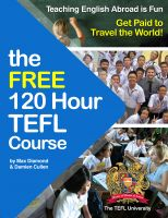 Cover for 'The Free 120 Hour TEFL Course'