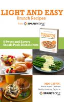 Cover for 'Light and Easy Brunch Recipes from SparkPeople'
