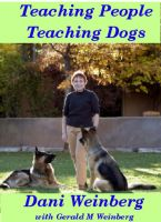 Cover for 'Teaching People Teaching Dogs'