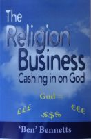 Cover for 'The Religion Business: Cashing in on God'