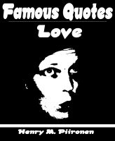 Cover for 'Famous Love Quotes'