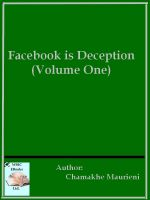 Cover for 'Facebook is Deception (Volume One)'
