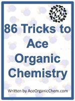 Cover for '86 Tricks to Ace Organic Chemistry'