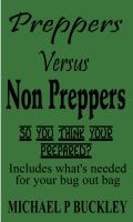 Cover for 'Preppers Versus Non Preppers'