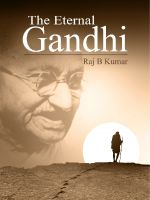 Cover for 'The Eternal Gandhi'