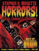 Cover for 'Horrors! Cults, Crimes, & Creepers'