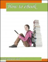 Cover for 'How to eBook'
