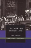 Cover for 'The Good That Business Does'