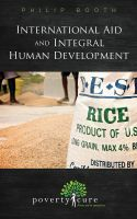 Cover for 'International Aid and Integral Human Development'