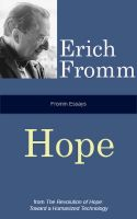 Cover for 'Fromm Essays: Hope'