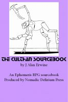 Cover for 'The Culthan Sourcebook: An Ephemeris RPG supplement'