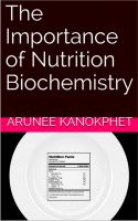 Cover for 'The Importance of Nutrition Biochemistry'