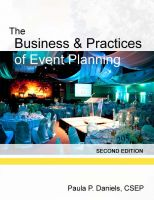 Cover for 'The Business and Practices of Event Planning (Second Edition)'