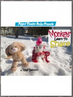 Puppet Theater Books Presents Monkeys Learn To Share: Funny Illustrated Bedtime