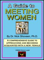 Cover for 'Meeting Women'