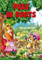 Cover for 'Puss in Boots Picture Book for Children. An Illustrated Classic Fairy Tale by Charles Perrault'