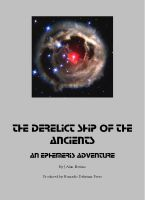 Cover for 'The Derelict Ship of the Ancients: An Ephemeris RPG adventure'