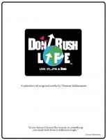 Cover for 'Don't Rush Life'