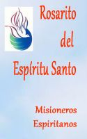 Cover for 'Rosarito del Espíritu Santo'