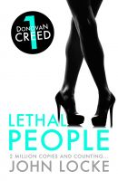 Cover for 'Lethal People'