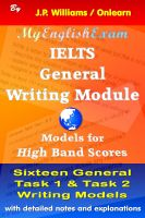 Cover for 'IELTS General Writing Module: Models for High Band Scores'