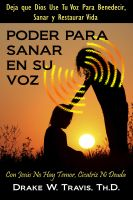 Cover for 'Poder Para Sanar En Su Voz'