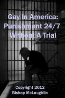 Cover for 'Gay In America: Punishment 24/7 Without A Trial'