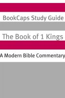 Cover for '1 Kings: A Modern Bible Commentary'