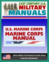 Cover for '21st Century U.S. Military Manuals: Marine Corps Manual - Basic Publication of the United States Marine Corps (Value-Added Professional Format Series)'