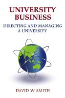 Cover for 'University Business: directing and managing a university'