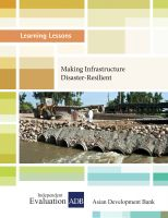 Cover for 'Making Infrastructure Disaster-Resilient'