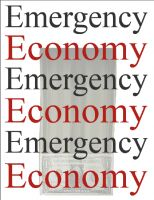 Cover for 'Emergency Economy: A PFRI Paper by Dr. Imran Chaudhry and Saleena Karim'