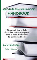 Cover for 'Self-Publish-Your-Book Handbook'