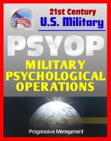 Cover for 'Psyop - Military Psychological Operations Joint Doctrine Guidance: Altering the Behavior of People in Enemy-Controlled Territory'