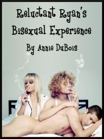 Cover for 'Reluctant Ryan's Bisexual Experience (MMF Threesome)'