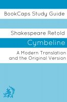 Cover for 'Cymbeline In Plain and Simple English (A Modern Translation and the Original Version)'