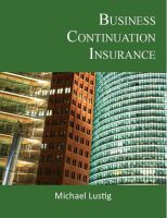 Cover for 'Business Continuation Insurance'
