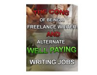 Cover for 'The Cons of Being a Freelance Writer and Alternative Well Paying Jobs'