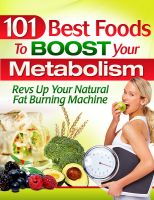 Cover for '101 Best Foods To Boost Your Metabolism'