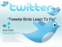 Cover for 'Tweetie Birds Learn To Fly! Learn Twitter In 5 Minutes For Web Ministry'