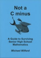 Cover for 'Not a C Minus'
