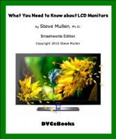 Cover for 'What You Need to Know about LCD Monitors'