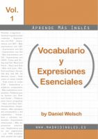Cover for 'Aprende Más Inglés: Vocabulario y Expresiones Esenciales'