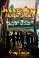 Cover for 'Summer Camp Mystery Kids - The Hidden Waterfall at Gray Mist Mountain'