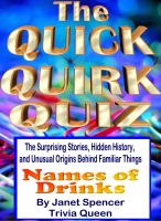 Cover for 'The Quick Quirk Quiz - Names of Drinks'