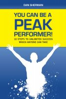 Cover for 'You Can Be a Peak Performer!'